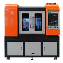 Steel cutting machine / for aluminum / copper / titanium
