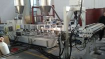 Panel extrusion line / for WPC