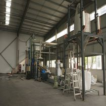 Plastics recycling unit / cost-effective / with pelletizing