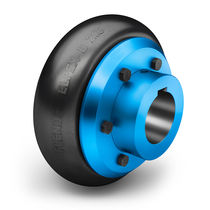 Rubber-tired coupling / for compressors / for excavators / highly-elastic