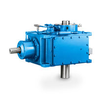 Hydraulic turbine gear reducer / bevel / orthogonal / high-speed
