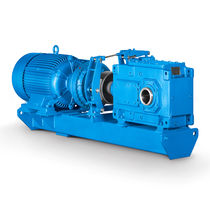 Belt conveyor gear reducer / orthogonal / precision / multi-stage