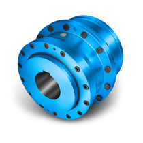 Torsionally rigid coupling / toothed / for pumps / breaker
