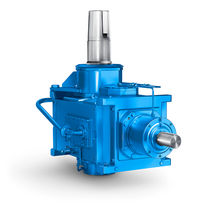 Hydrapulper gear reducer / helical / orthogonal / low-noise
