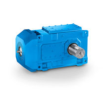 Orthogonal gear reducer / low-noise / compact / for pumps
