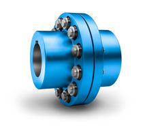 Torsionally flexible coupling / pin and bush / elastic / for pumps