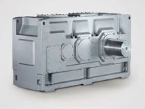 Helical gear reducer / parallel shaft / low-noise / for chemical reactors