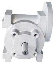 Worm gear reducer / right-angle