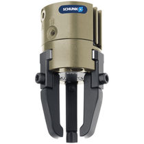 Pneumatic gripper / concentric / 3-jaw / for clean rooms