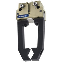 Pneumatic gripper / angular / 2-jaw / for clean rooms