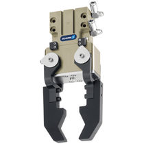 Pneumatic gripper / 180° angular / 2-jaw / wide-opening
