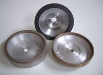 Peripheral grinding wheel / diamond resin bonded / abrasive