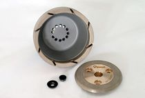 Surface treatment grinding wheel / vacuum-brazed