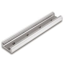 Precision rail / slide / steel / lightweight