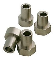 Adjustable guide bushing / rustproof