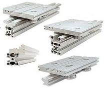 Sliding linear guide / custom / aluminum