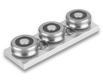 Precision rail / slide / aluminum / roller