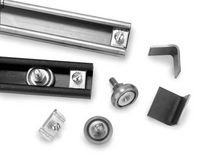 Ball bearing linear guide / steel