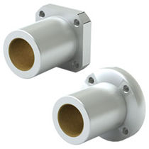 Flange plain bearing / aluminum / self-lubricated