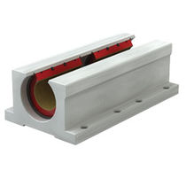 Open block-bearing / aluminum / self-lubricated