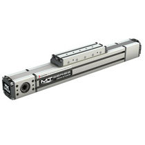 Linear actuator / electric / timing belt / precision