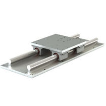 Sliding linear guide / low-profile / steel