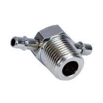 Screw-in fitting / T / hydraulic / brass
