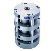 Pneumatic cylinder / piston / double-acting / multi-position