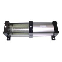 Pneumatic cylinder / double-acting / tie-rod