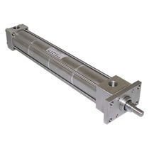 Pneumatic cylinder / hydraulic / piston / double-acting