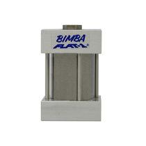 Pneumatic cylinder / piston / double-acting / flat