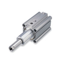 Rotary cylinder / pneumatic / double-acting / clamping