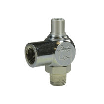 Needle valve / flow control / for exhaust gas