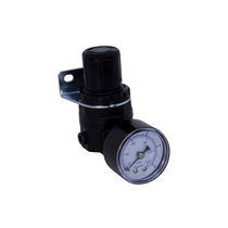 Air pressure regulator / single-stage / piston / pneumatic