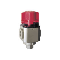 Pneumatic relief valve / shut-off