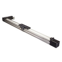 Belt-driven actuator / linear / electric / rodless