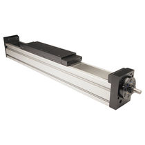 Linear actuator / electric / rodless / ball screw