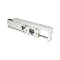 Rack-and-pinion actuator / linear / electric / high-speed