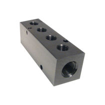 Multi-channel manifold / stainless steel / distribution