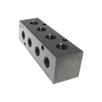 Multi-channel manifold / aluminum / distribution