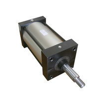 Hydraulic cylinder / double-acting / compact