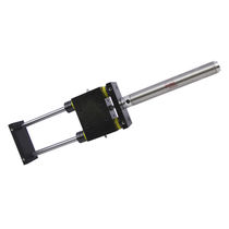 Linear actuator / hydraulic / double-acting / precision
