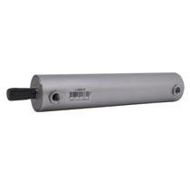 Pneumatic cylinder / double-acting / round / mini