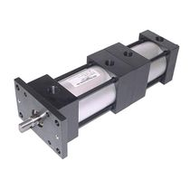 Three-position actuator / linear / hydraulic / double-acting