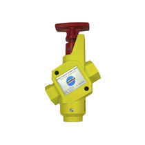 Isolation valve / pneumatically-operated / standard