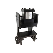 Pneumatic press / vertical / bench-top / frame