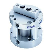 Non-rotating cylinder / pneumatic / piston / double-acting