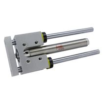 Ball bearing slide-ejector / pneumatic piston