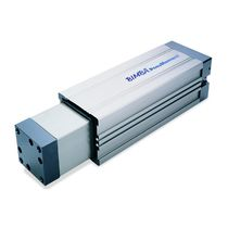 In-line actuator / pneumatic / double-acting / for heavy-duty loads