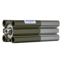 Pneumatic cylinder / double-acting / double-piston